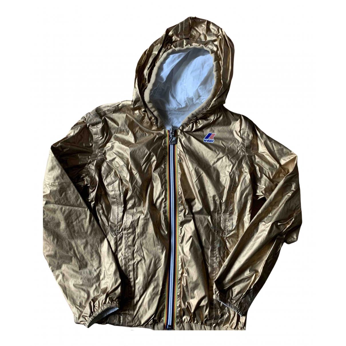 K-way - Blousons.Manteaux   pour enfant - dore