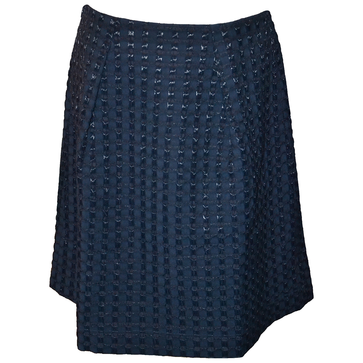 Non Signé / Unsigned \N Navy Wool skirt for Women 46 IT