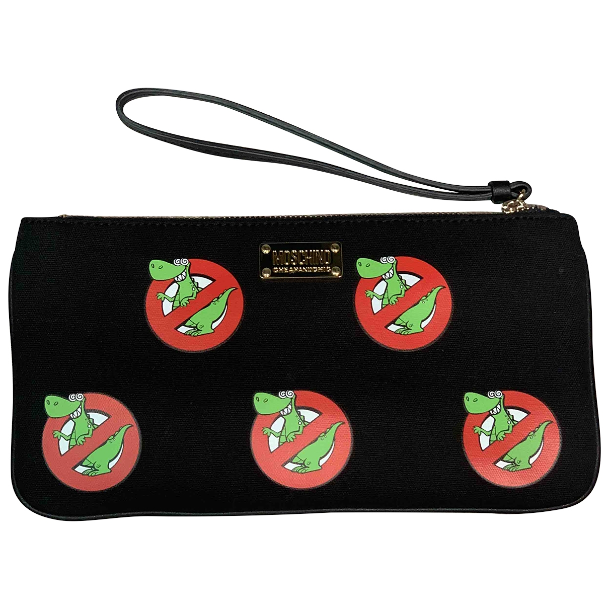 Moschino Cheap And Chic \N Black Cotton Clutch bag for Women \N