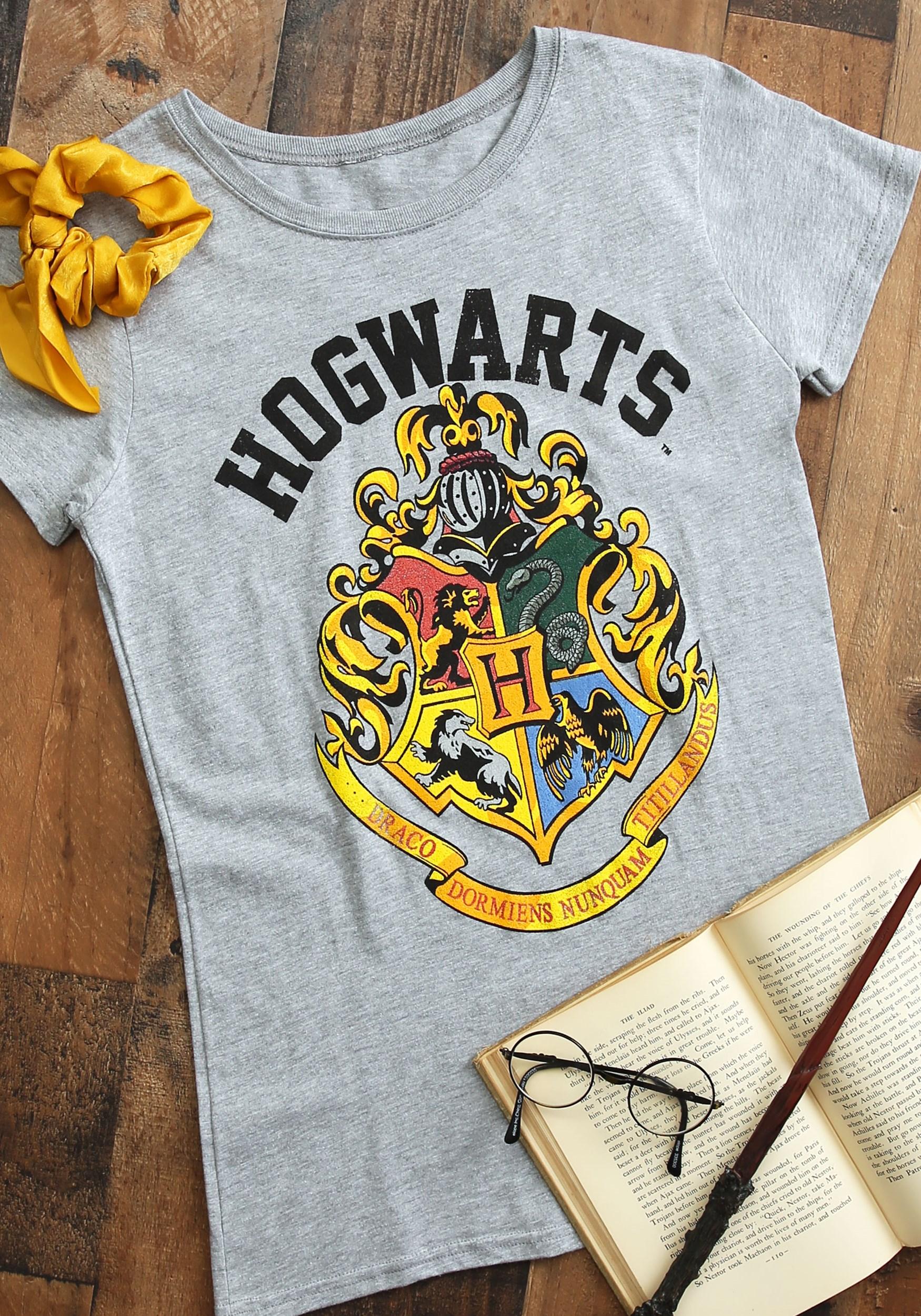 Women's Hogwarts Crest Harry Potter Tee