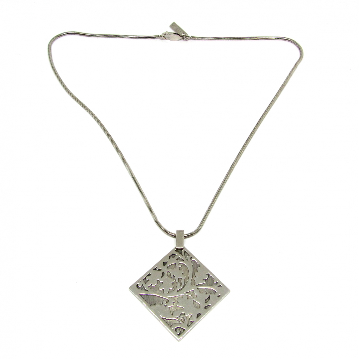 Kenzo Tigre Silver Silver necklace for Women \N