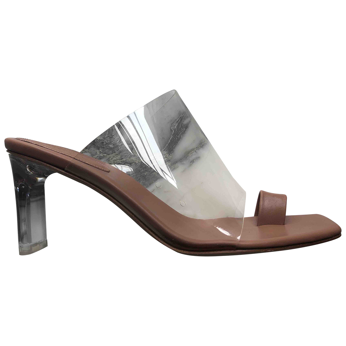 Rabeanco \N Beige Leather Sandals for Women 39 EU