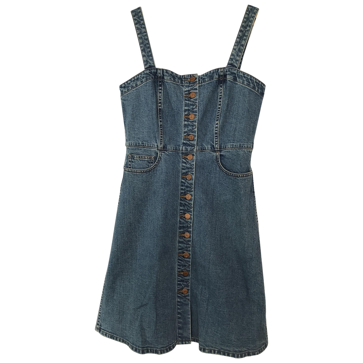Madewell \N Kleid in  Blau Denim - Jeans