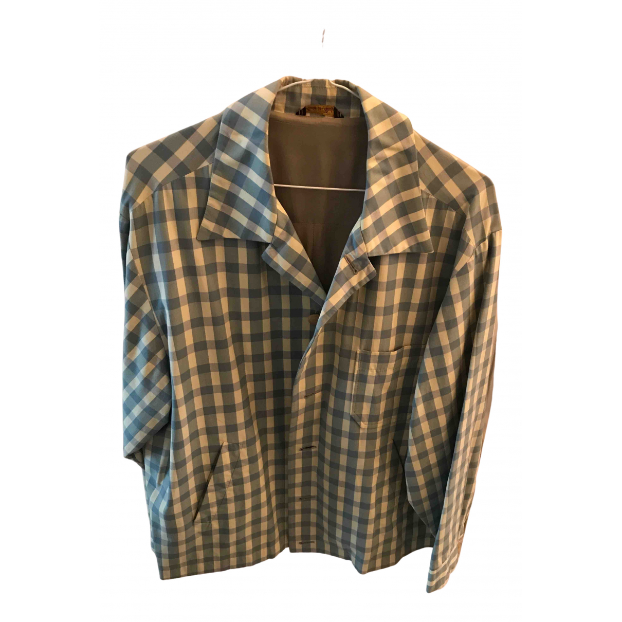 Nicole Farhi \N Blue Cotton jacket  for Men M International