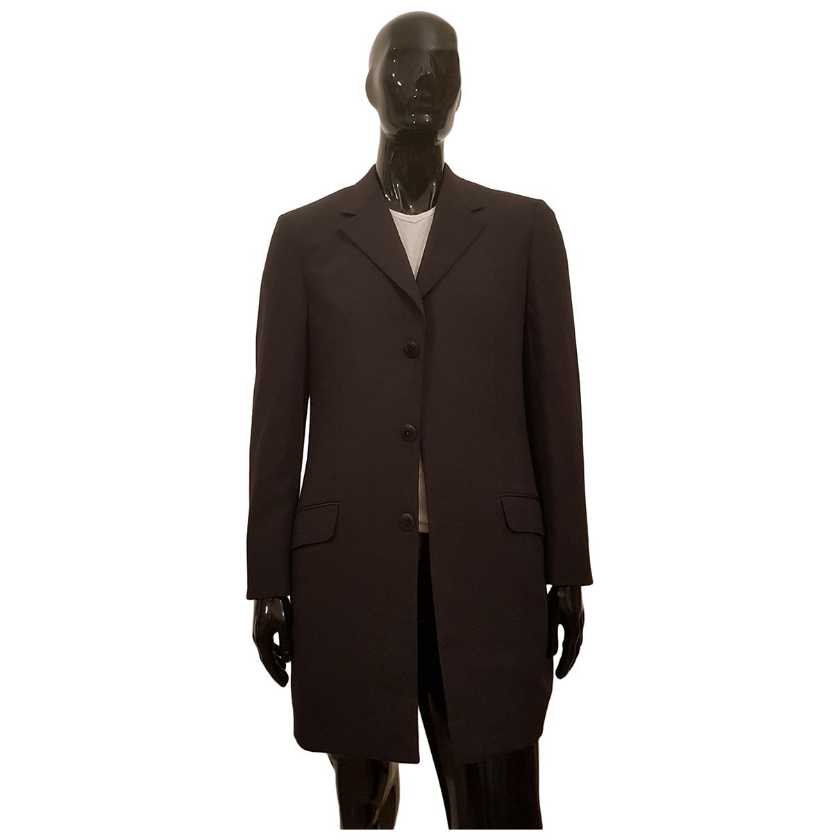 Gianni Versace - Vestes.Blousons   pour homme en laine - anthracite