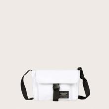 Release Buckle Front Crossbody Bag