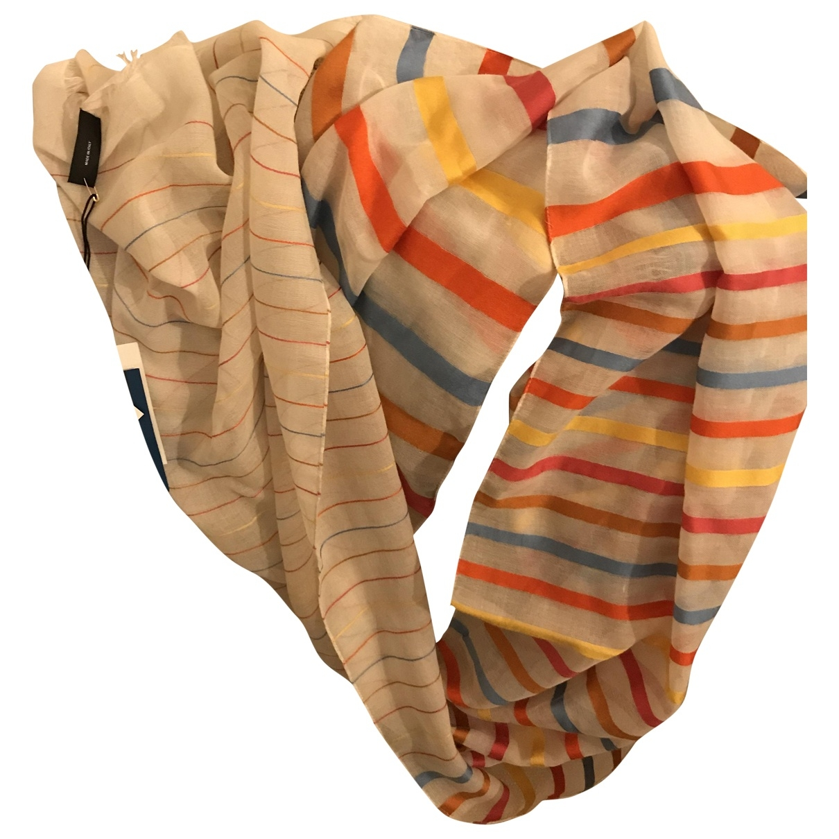 Paul Smith \N Multicolour Silk scarf for Women \N