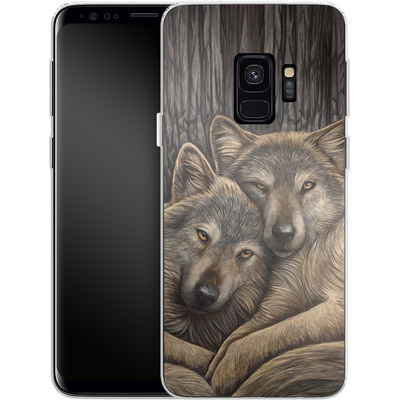 Samsung Galaxy S9 Silikon Handyhuelle - Loyal Companions von Lisa Parker