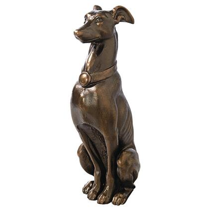 SP2501 Greyhound Sentinel Cast Iron Statue Nr In