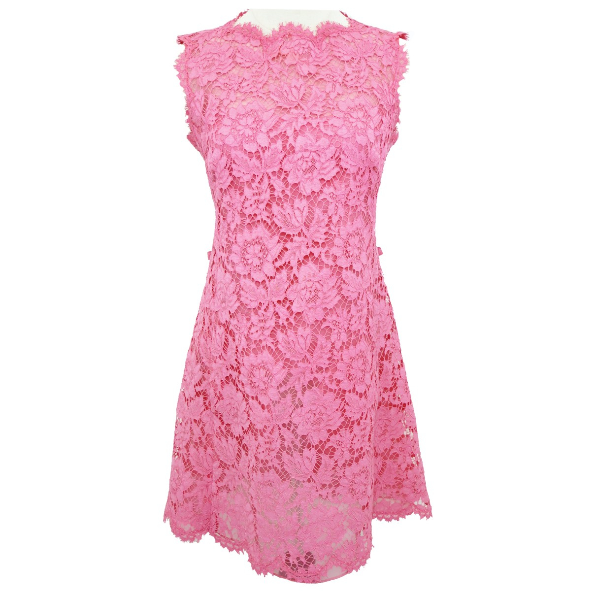 Valentino Garavani \N Kleid in  Rosa Baumwolle
