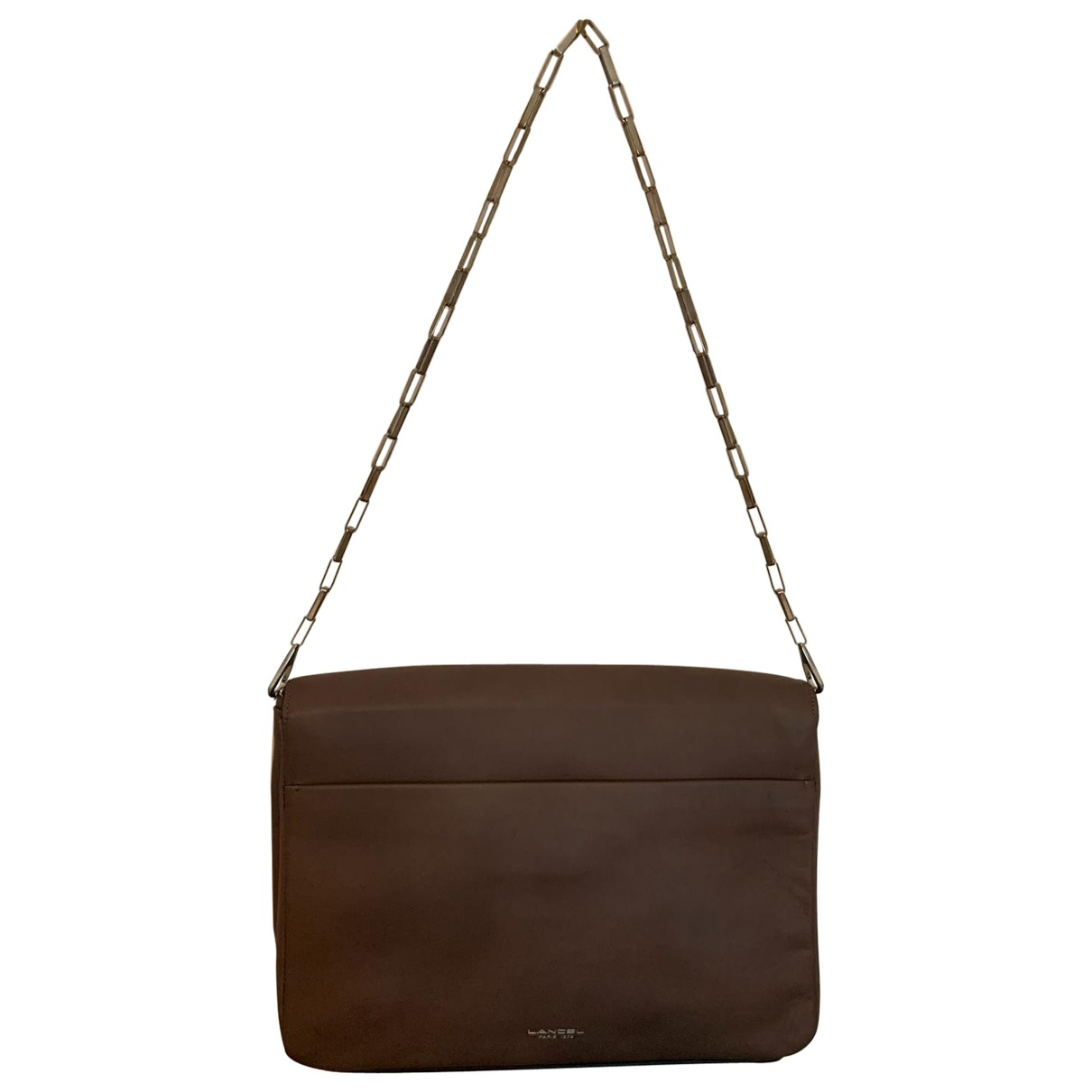 Lancel Varenne Purple Leather handbag for Women \N