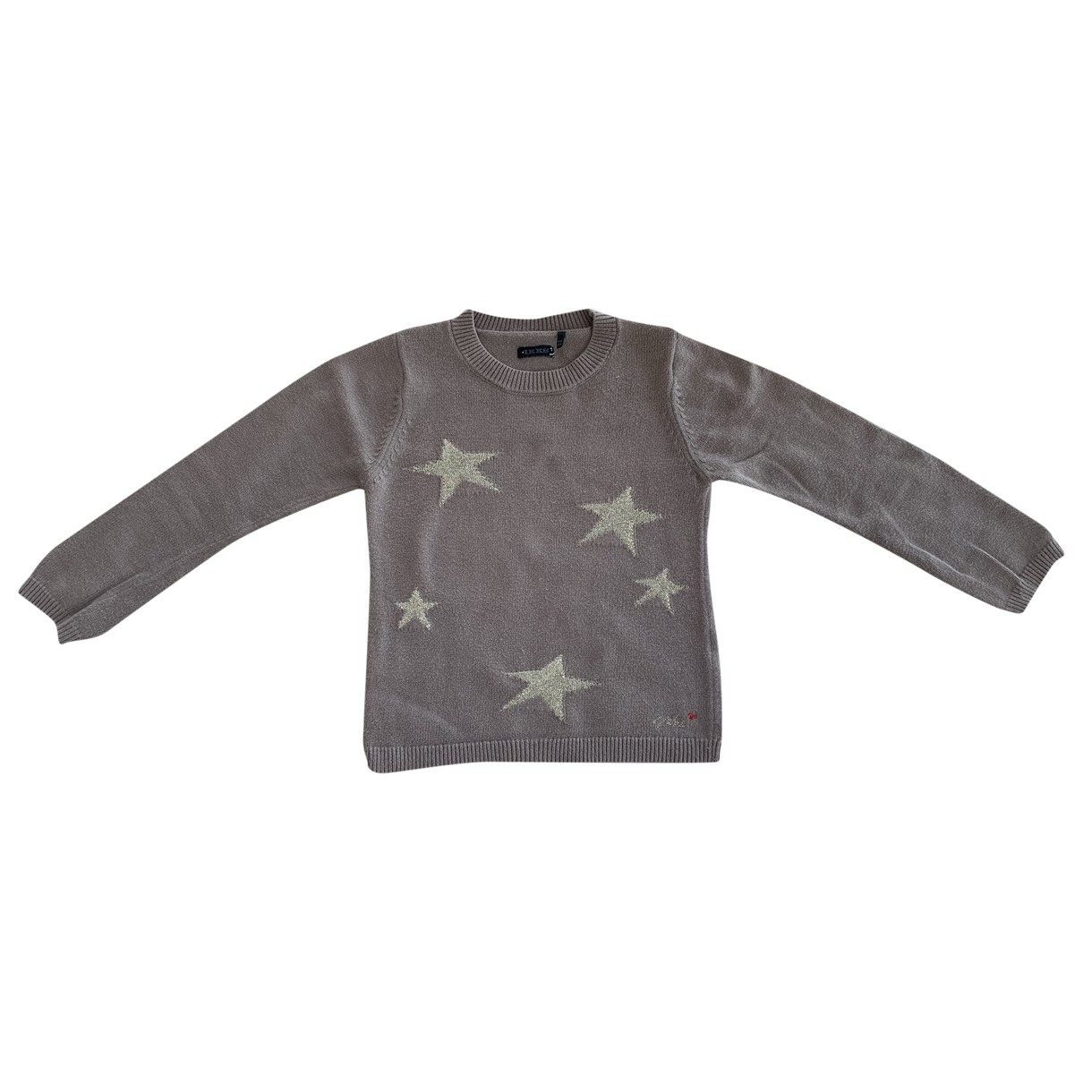 Ikks \N Beige Cotton Knitwear for Kids 6 years - up to 114cm FR