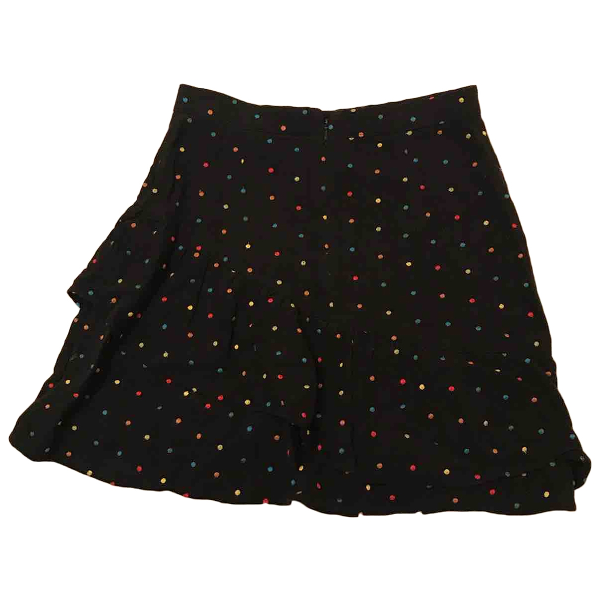 & Stories \N Black Linen skirt for Women 8 UK