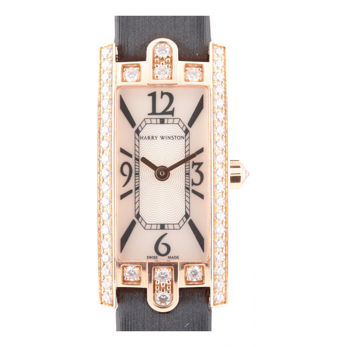 Reloj de Oro amarillo Harry Winston