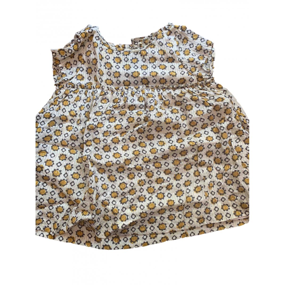 Burberry - Robe    pour enfant en soie - blanc