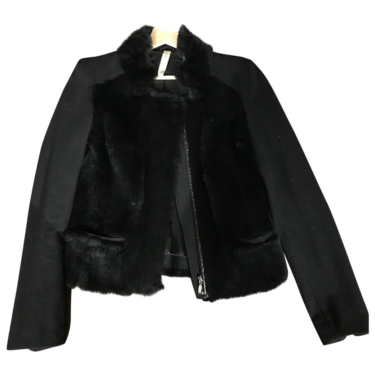 Stephanie Vaille \N Black Wool jacket for Women 38 FR