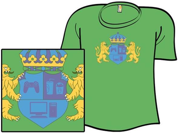 Geek Crest T Shirt