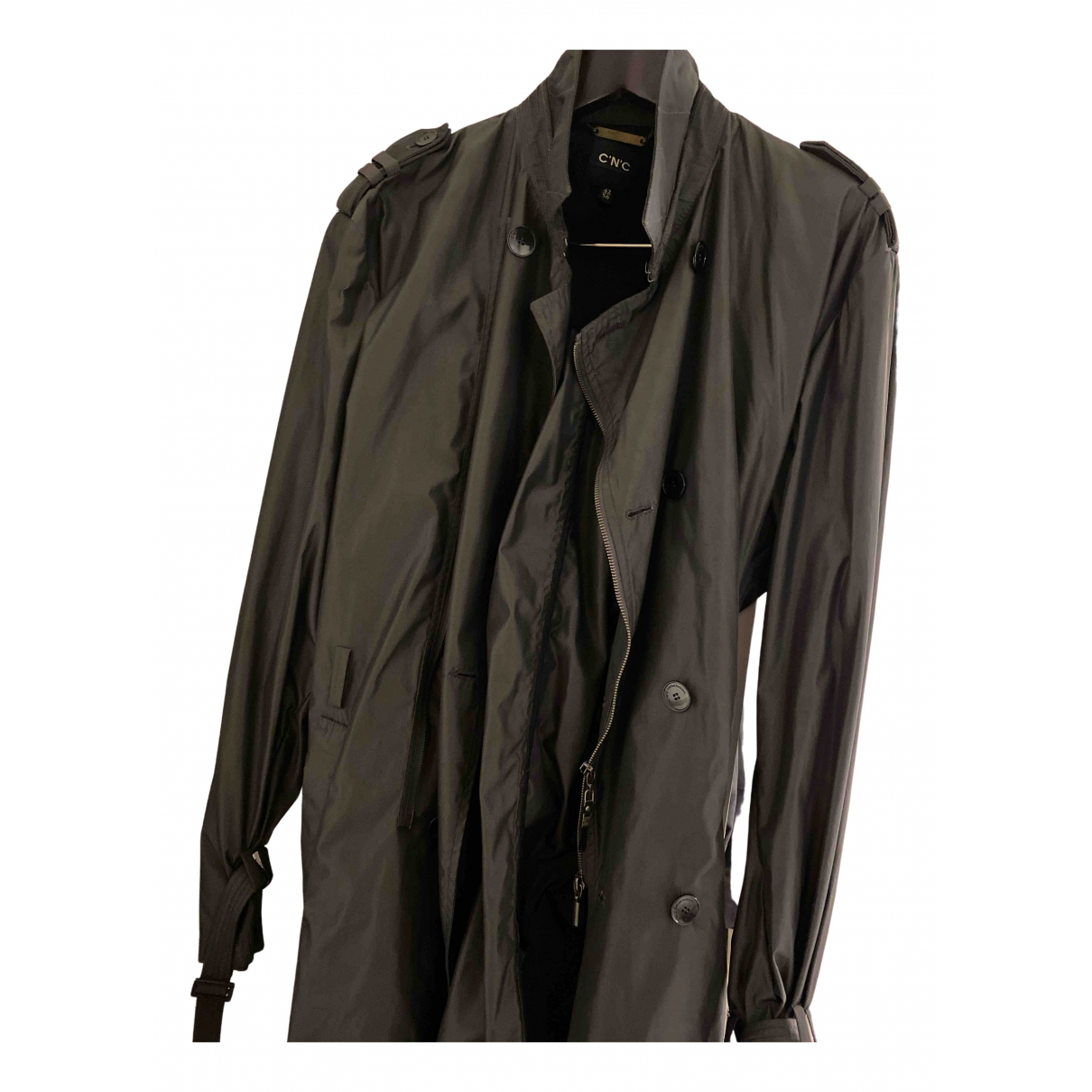 Cnc N Black coat  for Men 56 IT
