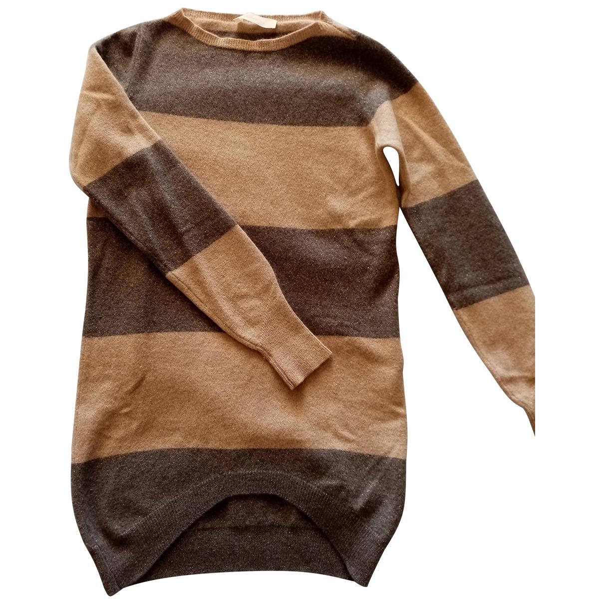 Mauro Grifoni \N Silver Wool Knitwear for Women 40 IT