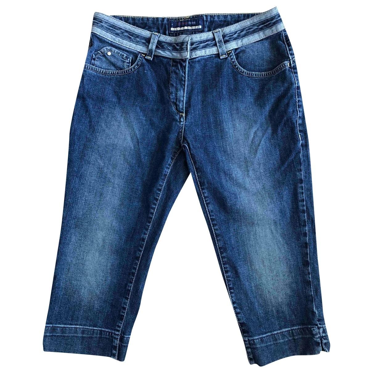 Trussardi Jeans \N Shorts in  Blau Baumwolle