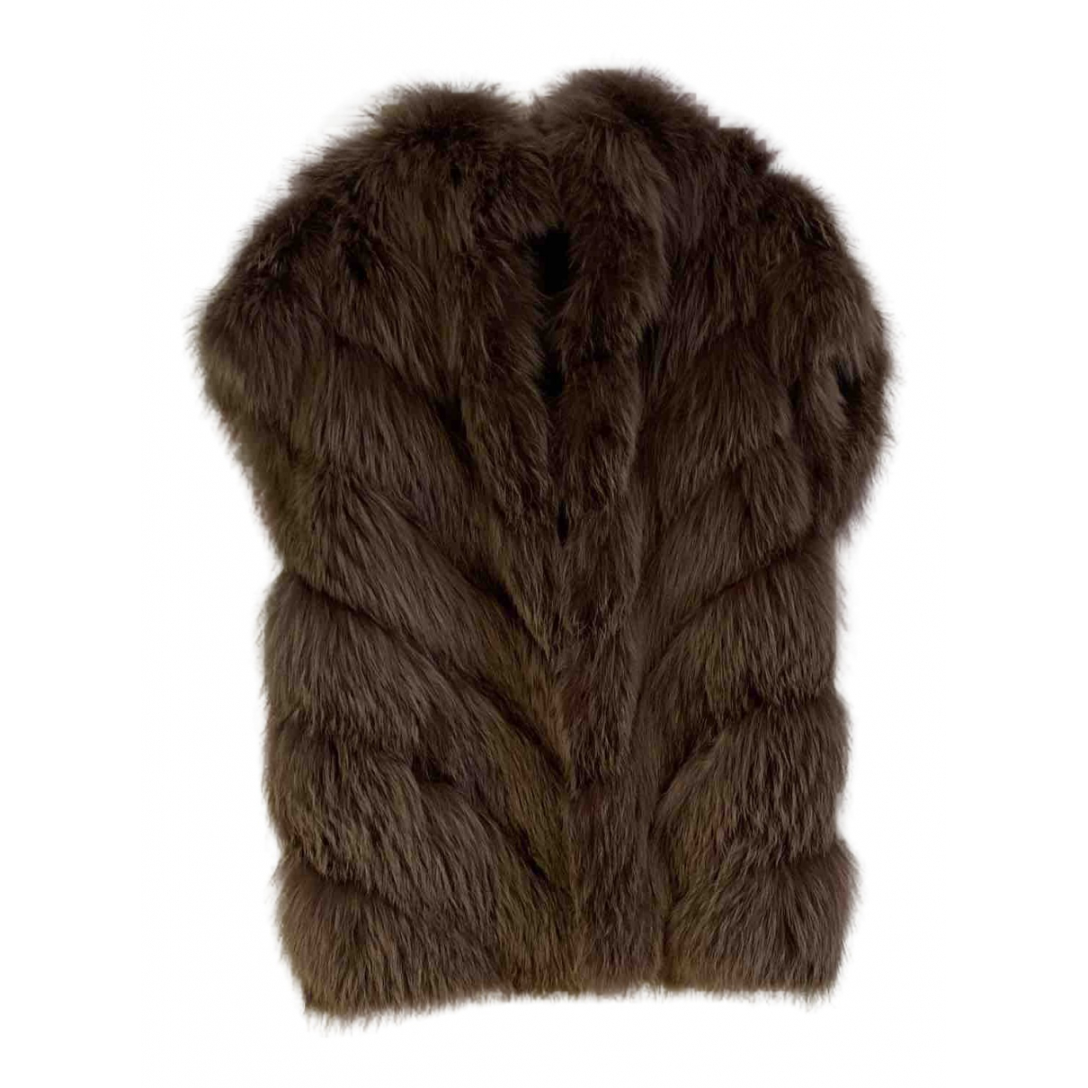 Blancha - Veste   pour femme en renard
