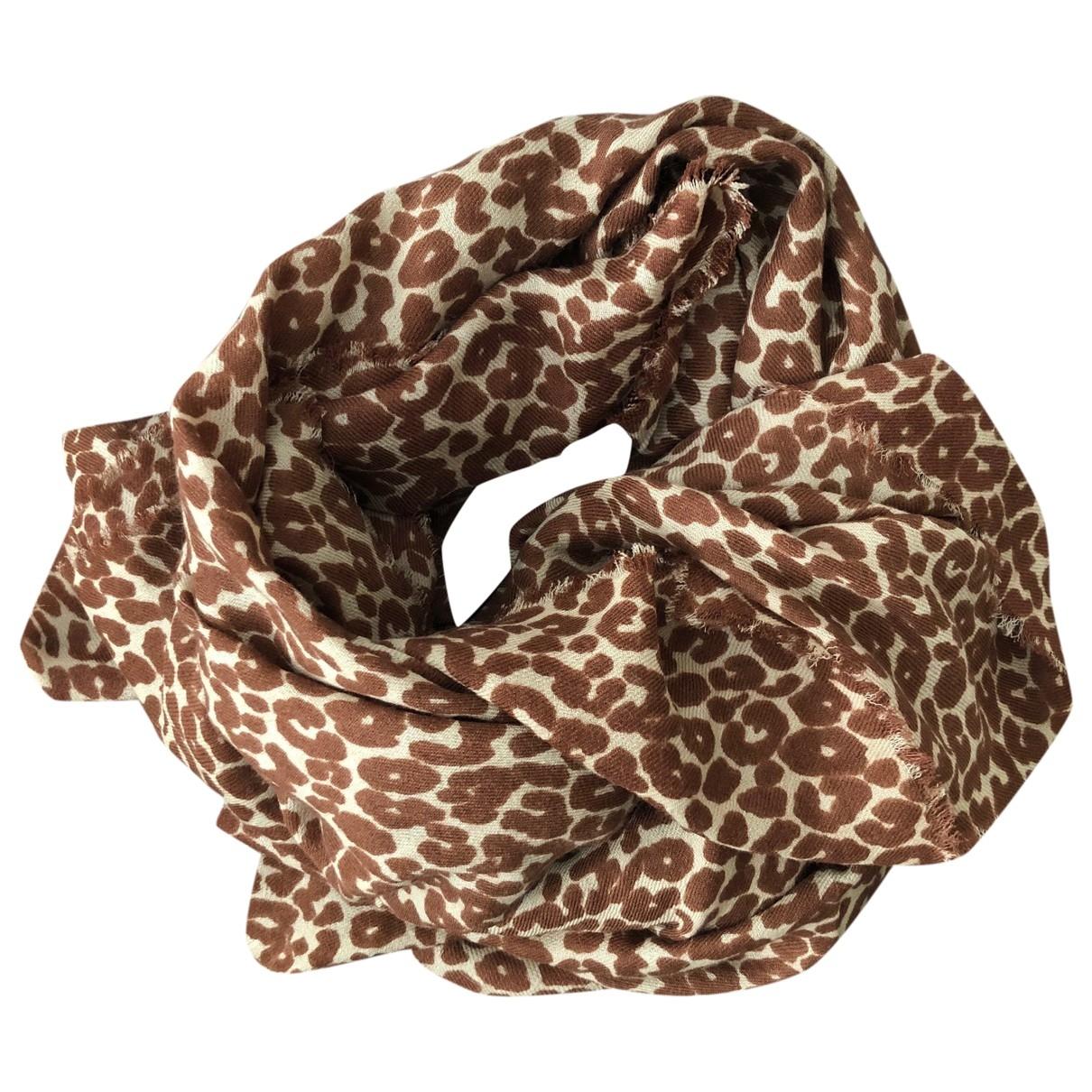 Max Mara Weekend \N Brown Wool scarf for Women \N