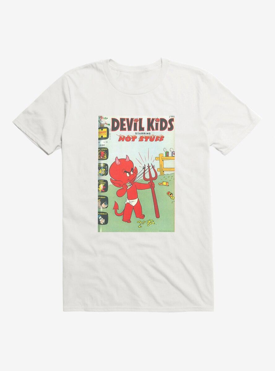 Hot Stuff The Little Devil Slingshot Comic Cover T-Shirt