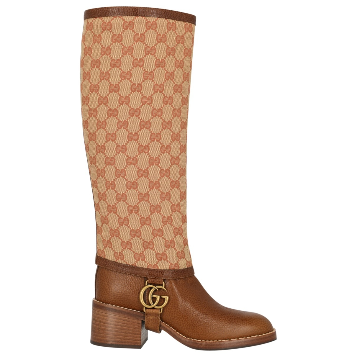 Gucci \N Brown Cloth Boots for Women 37 IT
