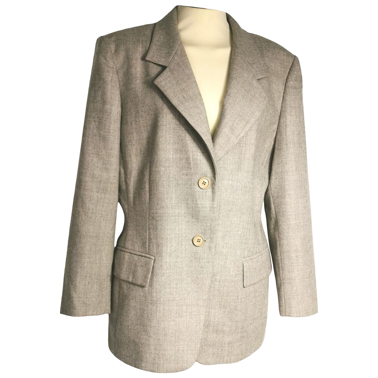Marella - Veste   pour femme en laine - beige