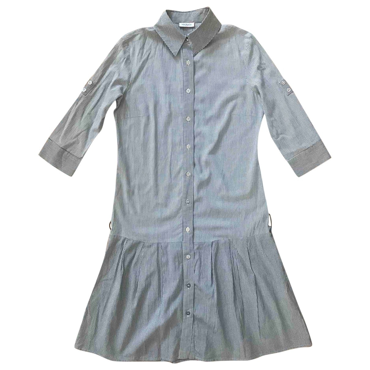 Max & Co \N White Cotton dress for Women 38 IT