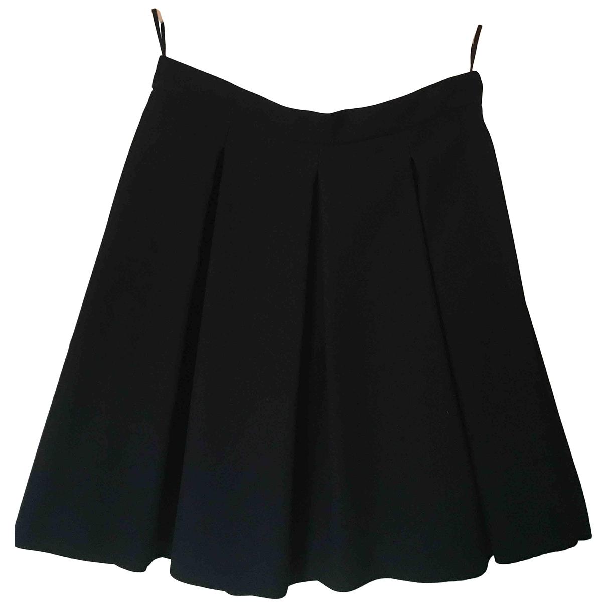 Miu Miu - Jupe   pour femme en laine - noir