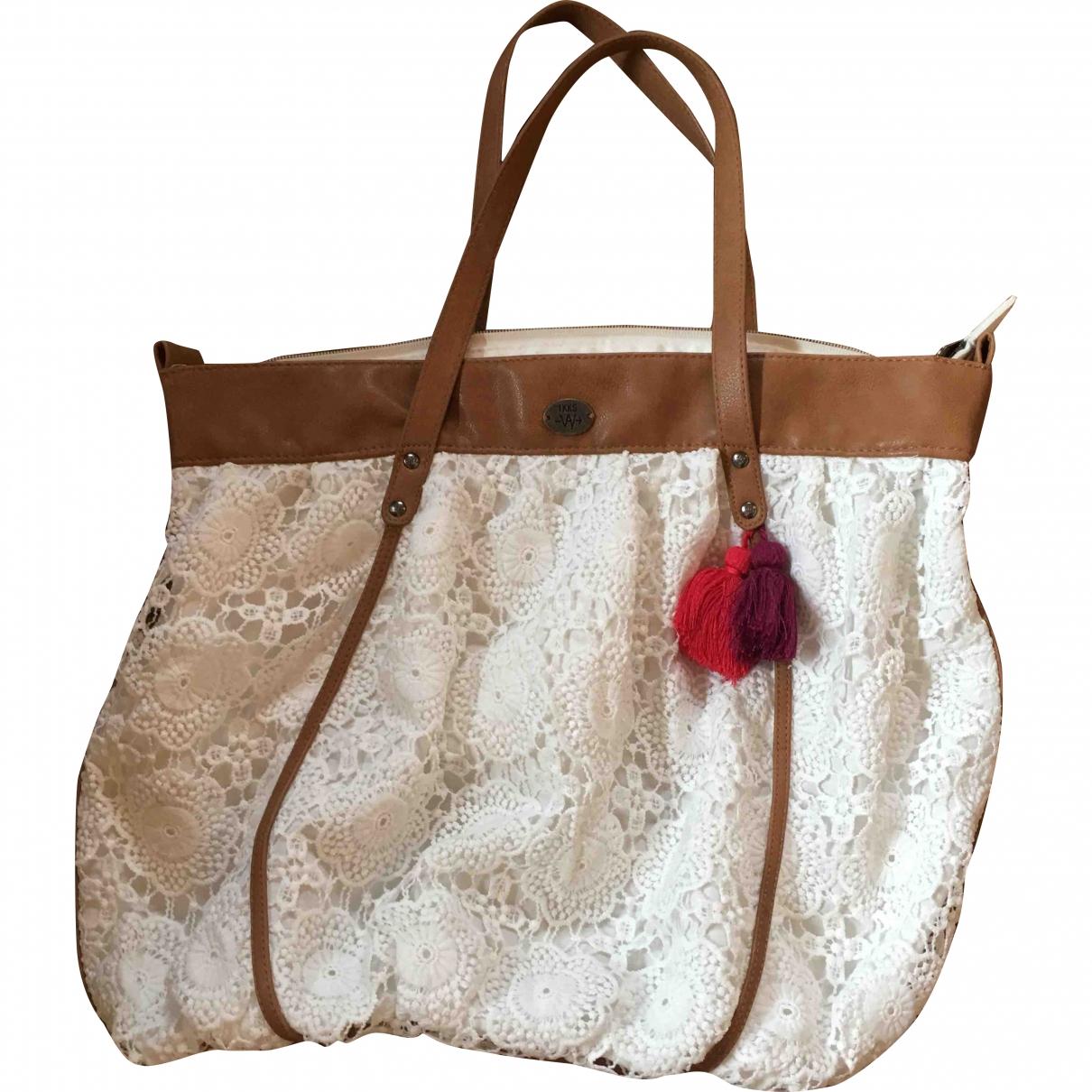 Ikks \N White Cotton handbag for Women \N