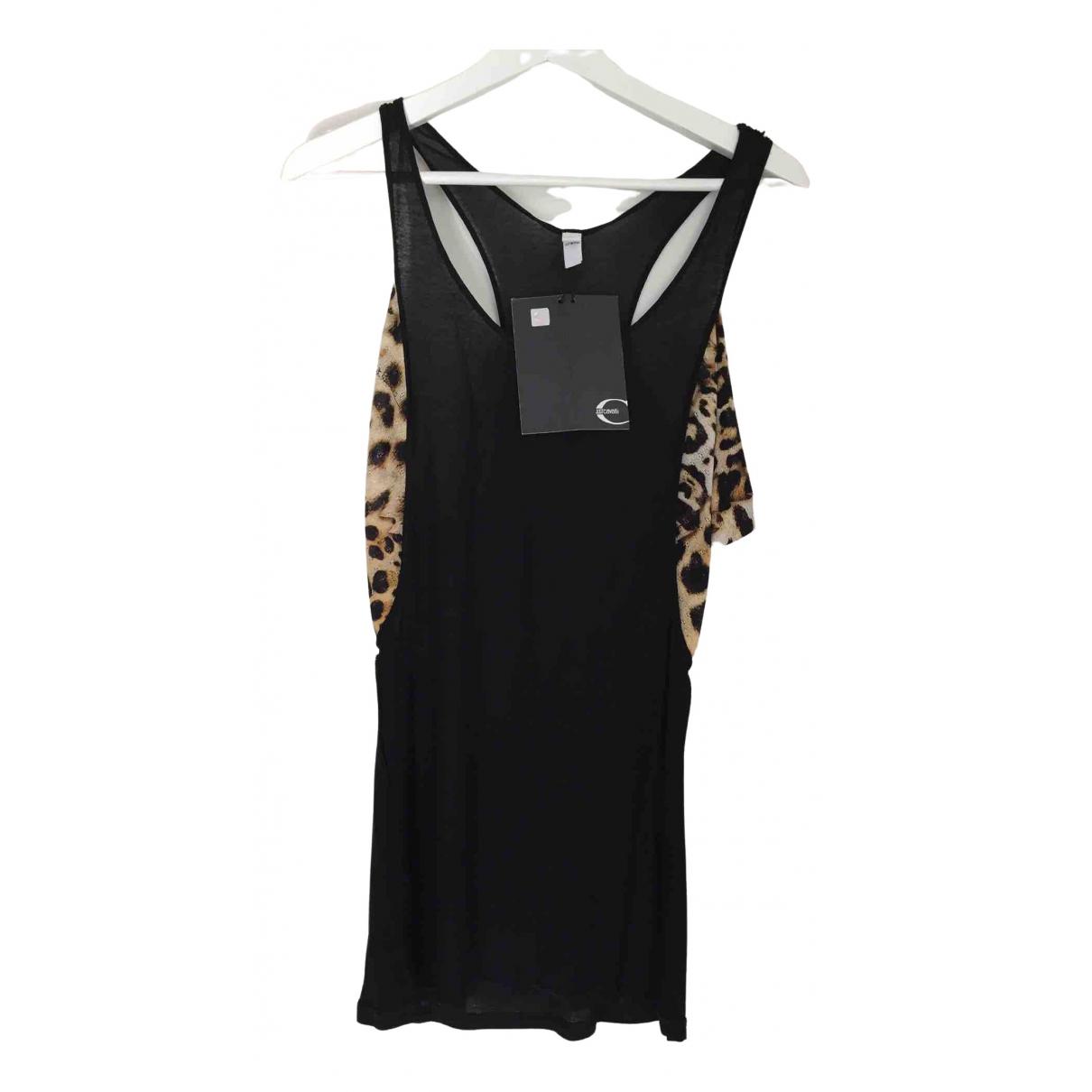 Just Cavalli N Black Wool  top for Women 42 IT