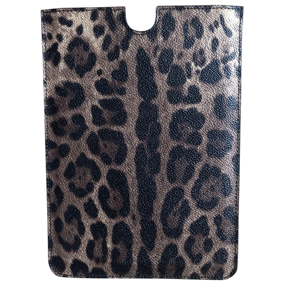 Dolce & Gabbana - Accessoires   pour lifestyle en toile - marron