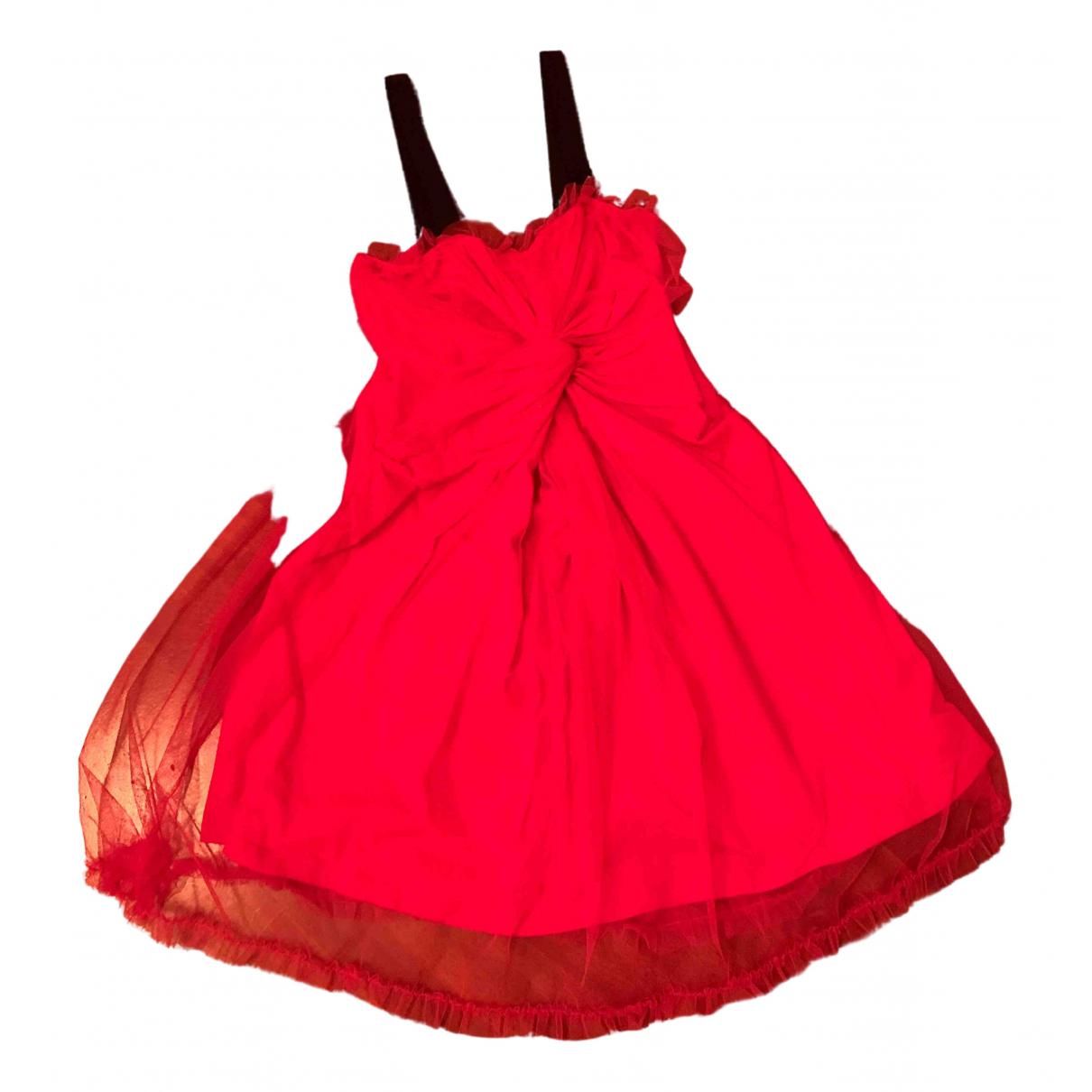 Red Valentino Garavani \N Kleid in  Rosa Baumwolle