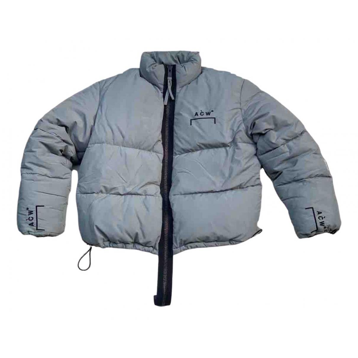 A-cold-wall - Manteau   pour homme en coton - gris