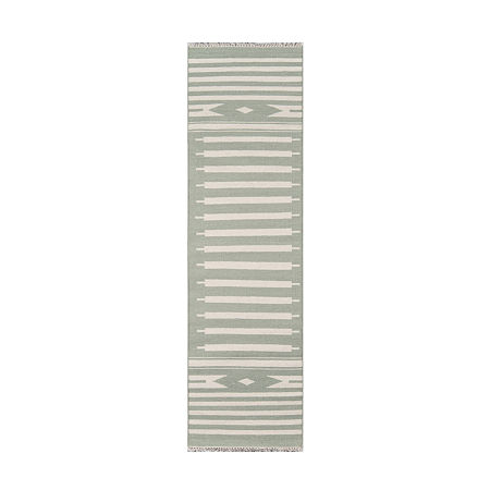 Erin Gates By Momeni Billings Rectangular Indoor Rugs, One Size , Green