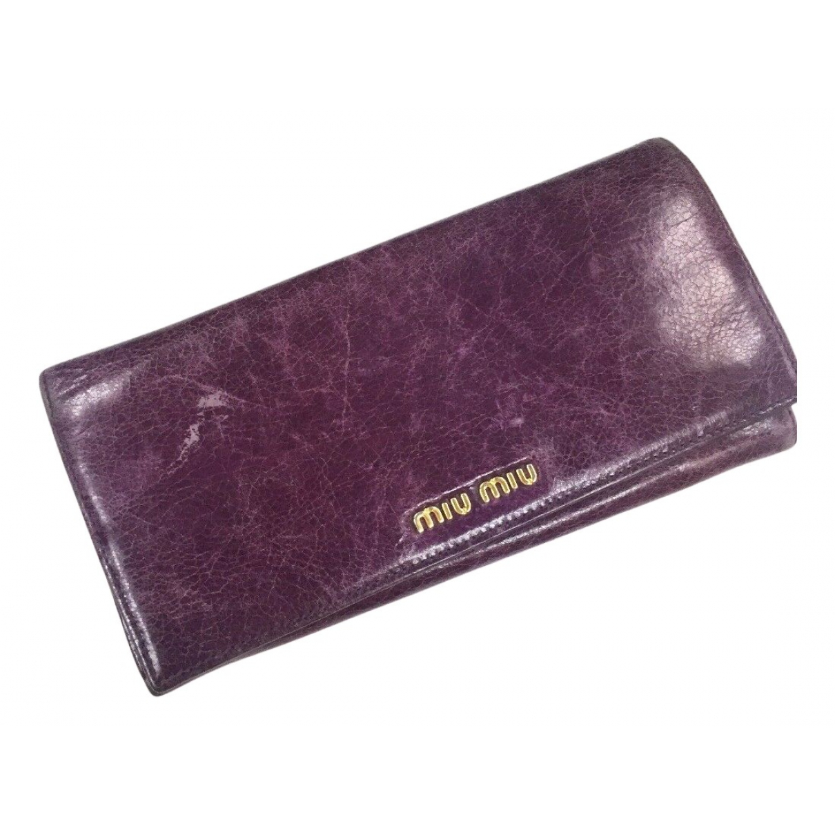 Miu Miu N Leather wallet for Women N