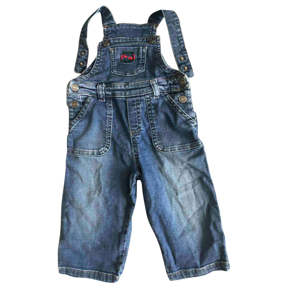 Gucci \N Blue Cotton Trousers for Kids 9 months - up to 71cm FR