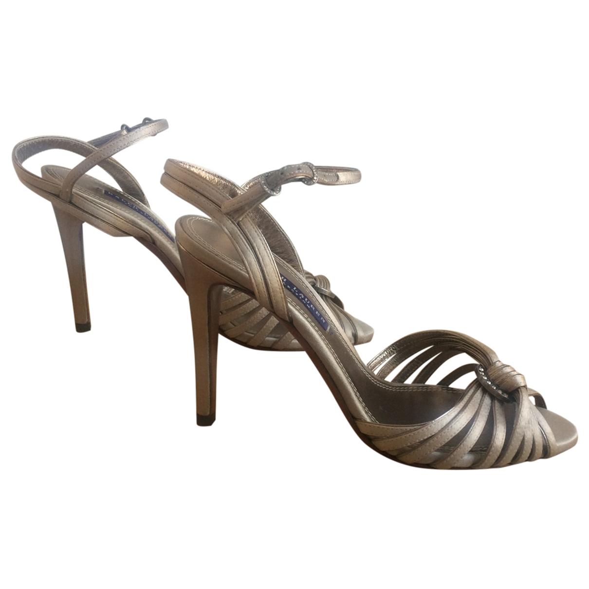 Ralph Lauren Purple Label \N Beige Sandals for Women 38 EU