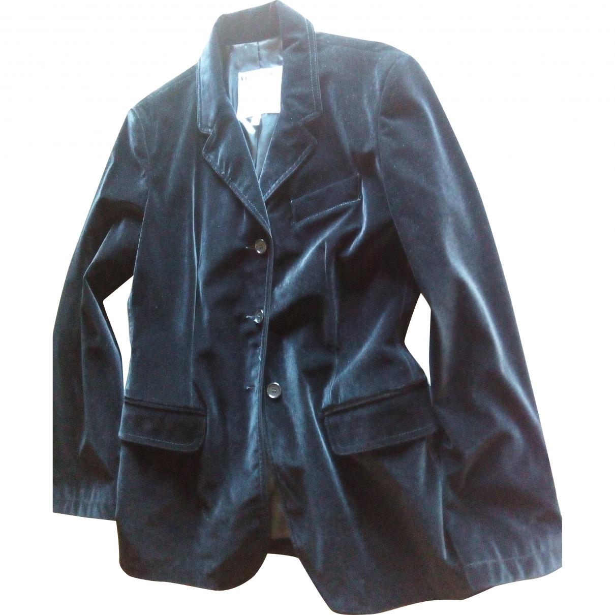 Moschino Cheap And Chic - Veste   pour femme en velours - noir