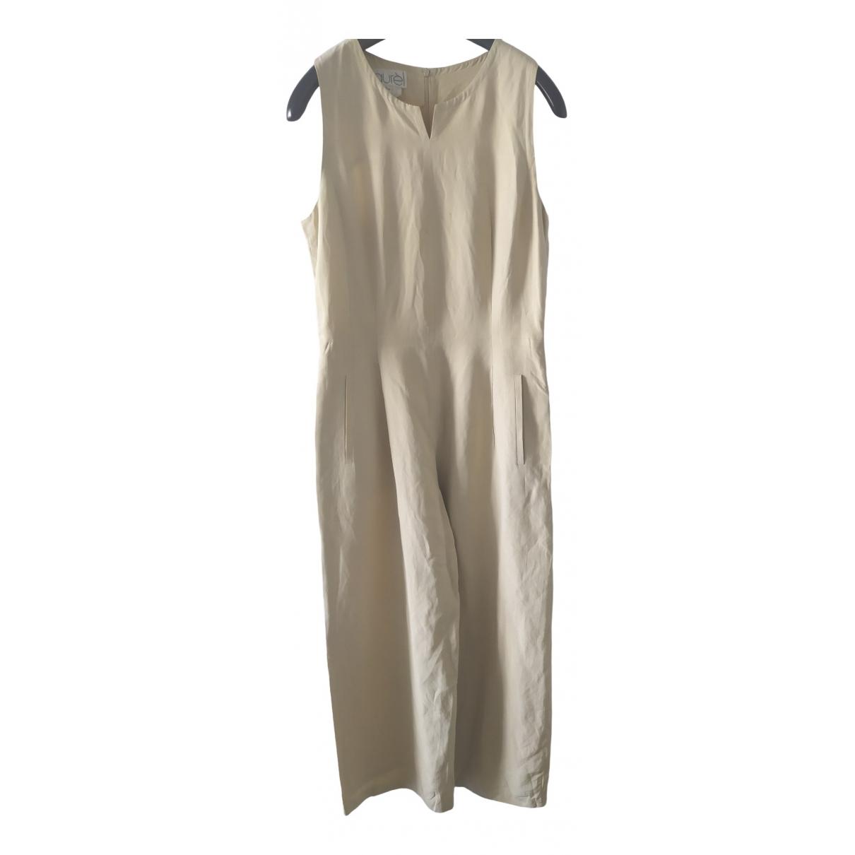 Laurel - Combinaison   pour femme en lin - beige