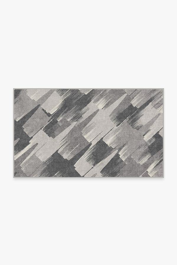 Washable Rug Cover   Rogue Squadron Grey Rug   Stain-Resistant   Ruggable   3'x5'