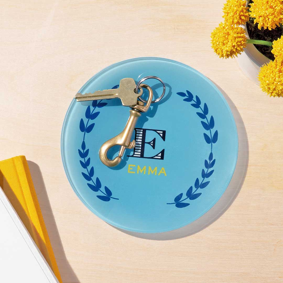 Round Glass Plate, Home Décor