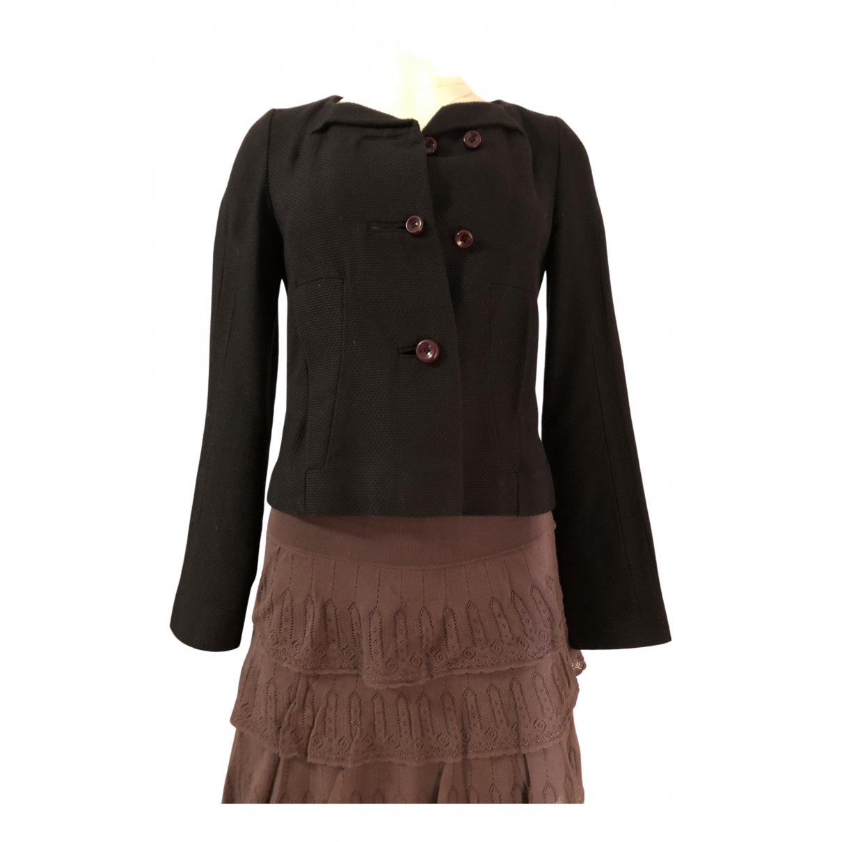 Chloe - Veste   pour femme en coton - noir