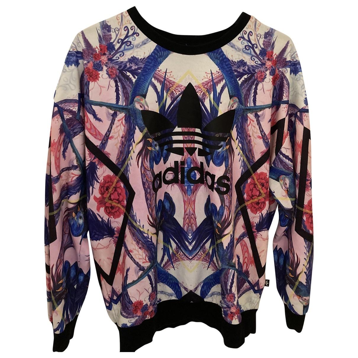 Adidas - Pull   pour femme en coton - multicolore