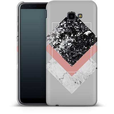 Samsung Galaxy J4 Plus Smartphone Huelle - Geometric Textures 1 von Mareike Bohmer