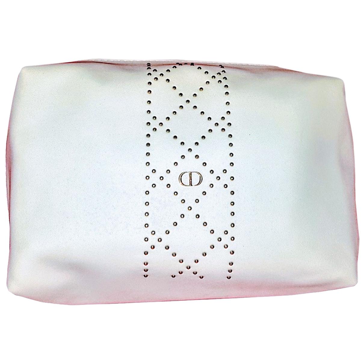 Dior - Sac de voyage   pour femme en cuir - blanc