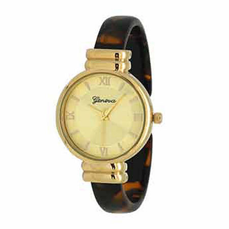Olivia Pratt Elegant Womens Brown Strap Watch-17536tortoise, One Size , No Color Family