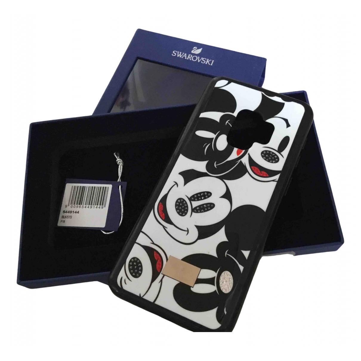 Swarovski - Bijoux de portable   pour femme en cristal - marine